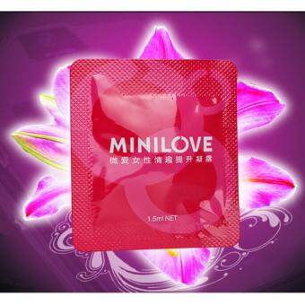 Harga MINILOVE Mini Love Orgasmic Gel 1.5ml 6pcs