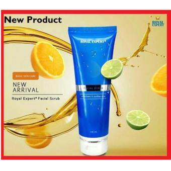 Harga (Original) ROYAL EXPERT FACIAL SCRUB 100G