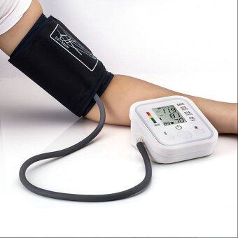 Harga Arm Blood Pressure Pulse Monitor Health Care Digital Upper Sphygmomanometer