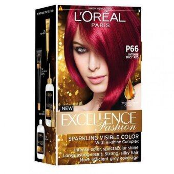 Harga L'Oreal Paris Excellence Fashion #6.66 Red