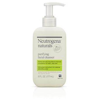 Harga Neutrogena Naturals Purifying Facial Cleanser With Salicylic Acid, 6 Fl. Oz.