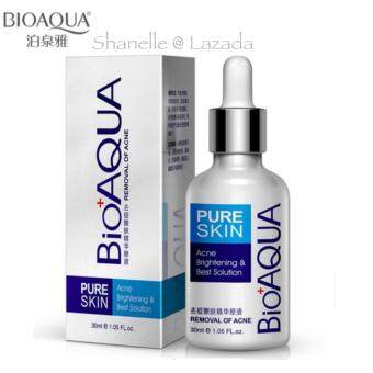 Harga New BIOAQUA Face Care Acne Scar Treatment / Acne Removal Cream - Acne Spots Skin Care Whitening Acne Treatment Remove Essential Oil 30ML - Brightening and Best Solution -