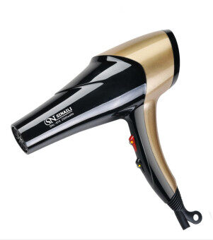 Harga SINAILI HAIR DRYER 2300W WITH BLUE ANION - GOLD COLOR