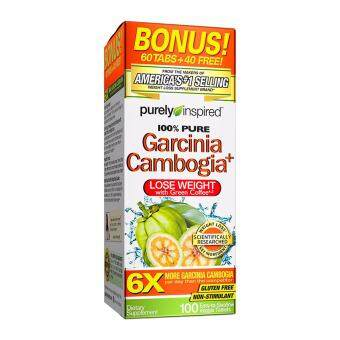 Harga Purely Inspired, Garcinia Cambogia Plus Tablets (1600mg of Garcinia perserving ), 100 tablets