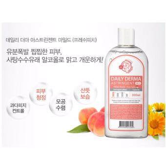 Harga Nightingale Daily Derma Eraser Astringent Mild Fresh Peach 300ml (Pore Tightening)