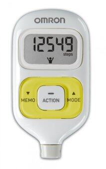 Harga (Original) Omron HJ-203 Pedometer (Warranty 1 Year) Green
