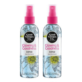 Harga Good Virtues Co Brightening Facial Toner (2pcs)