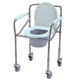 Harga AQ Medicare Mobile Commode Chair CMC2015