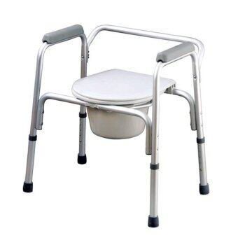 Harga AQ Medicare Aluminium Commode Chair CMC1250