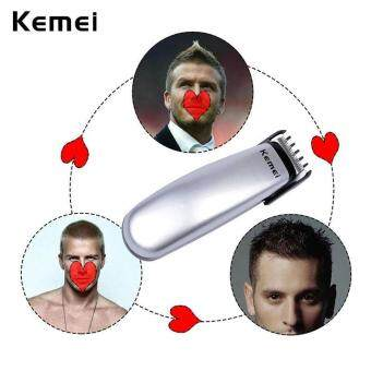 Harga Kemei Professional Men's Hair Trimmer Cutter Battery Hair Cutting Kit Haircut Beard Removal Electric Shaver Barber Clippers A00