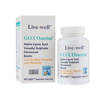 Harga Live-well GLUCOsential - One a day Formula (60s)