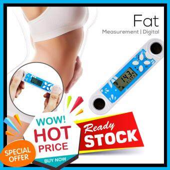 Harga Realeos LCD Mini BMI Body Fat Obesity Analyzer Hand Tester Meter Measurement - R522