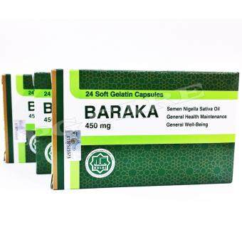 Harga BARAKA 450MG CAP 3X24'S (TRIPLE PACK)