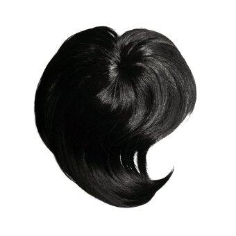 Harga Seamless Clip-on Bangs (Kanekalon) BLACK