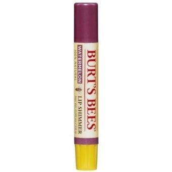 Harga [International Shipping]Burts Bees Lip Shimmer, Watermelon (Pack of 4)(해외배송)