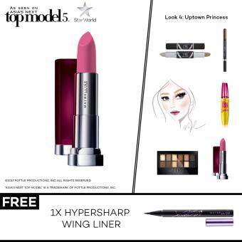 Harga [AsNTM] (FREE Hypersharp Wing Liner) Maybelline Powder Mattes Technically Pink