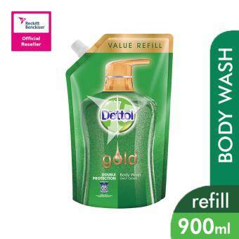 Harga Dettol Gold Shower Gel Daily Gel 900ml Refill Pouch - 3023437