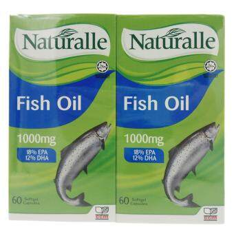 Harga Naturalle Fish oil ( heart healthy, reduce depression)1000mg x 60 softgel x 2s