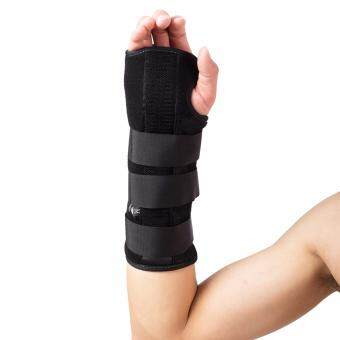 Harga (Medium Left)Wrist Forearm Splint Support Brace Pad Strap Wrap for Mouse Hand Fixation of forearm fracture