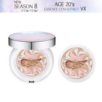 Harga *NEW* AGE20's Essence Cover Pact VX Season 8 (An Original pack12.5g+1*Refill12.5g) No.23Natural Beige