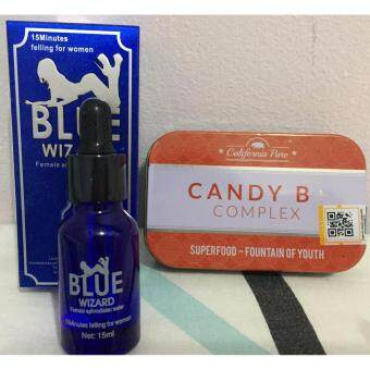 Harga Blue wizard + (Candy)(B+)(Complex)
