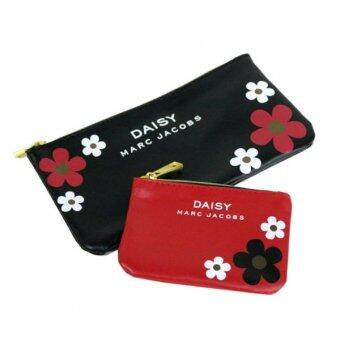 Harga Marc Jacobs Daisy Pouch 2 Pcs In a Set (Black/Red) - Japan Magazine Complementary Item