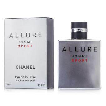 Harga Chanel Allure Homme Sport For Men Eau De Toilette 100ml Vaporisateur Spray