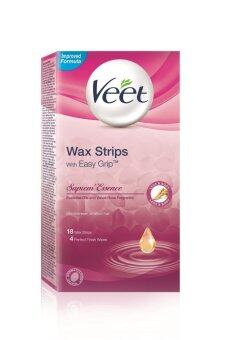Harga Veet Wax Strip Supreme Essence 18'S