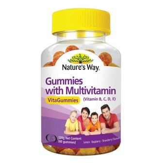 Harga Nature's Way Gummies With Multivitamin 60's