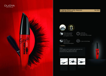 Harga Duoya Style Mascara Make Up Forever