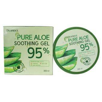 Harga Deoproce Pure Aloe Soothing Gel 95% 300ml
