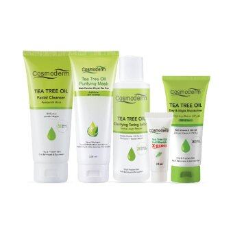 Harga Cosmoderm, Tea Tree Acne Set