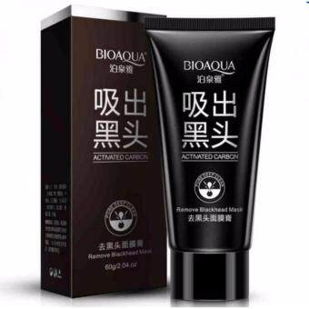 Harga BioAqua Black Mask Activated Carbon Blackhead Face Mask