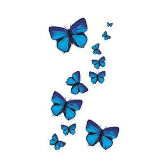 Harga 5 PCS Wyuen Butterfly Fake Waterproof Tattoo Sticker A-049