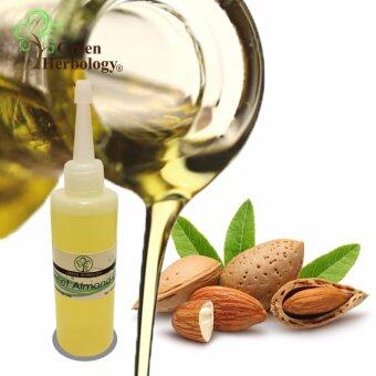 Harga Pure Sweet Almond Oil, Cold Pressed, Natural Carrier Oil 100ml