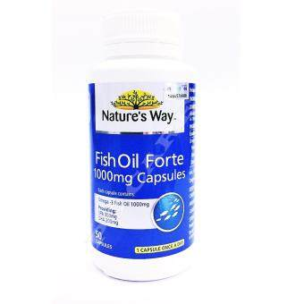Harga NATURE'S WAY FISH OIL FORTE 1000MG 50'S