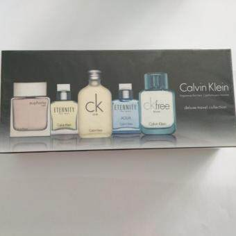 Harga CALVIN KLEIN GIFT PACK FOR MEN 5FAMOUS VERSION OF CALVIN KLEIN IN ONE BOX