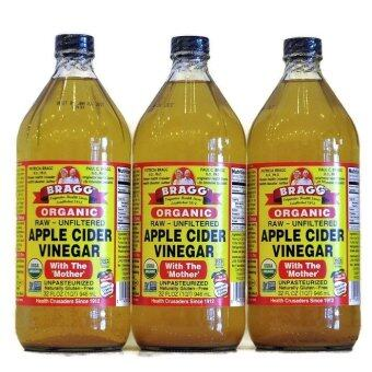 Harga 3 X Bragg Organic Apple Cider Vinegar (946ml X 3)
