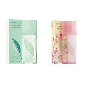 Harga X'mas Bundle Deal: Elizabeth Arden Green Tea EDP Women (100ml) & Elizabeth Arden Green Tea Cherry Blossom EDT Women (100ml)