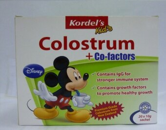 Harga Kordels Kids Colostrum + Co-Factors 20X10G