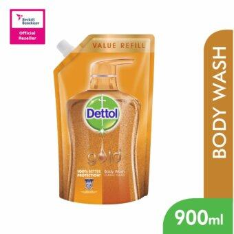 Harga Dettol Gold Shower Gel Classic Gel 900ml Refill Pouch - 3023438