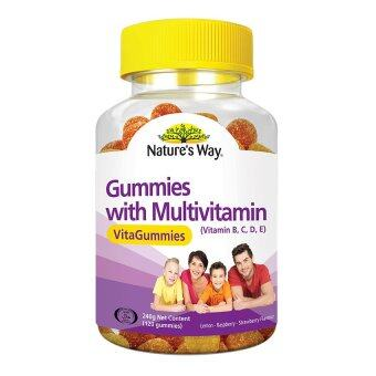 Harga Nature's Way Gummies With Multivitamin 120's