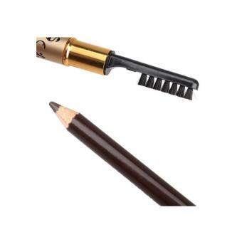 Harga Mac Leopard Professional Eyebrow Makeup Pencil with Brush (Brown) BUY 1 FREE 1
