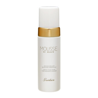Harga Guerlain Mousse De Beaute Gentle Foam Wash Pure Radiance Cleanser 5oz, 150ml
