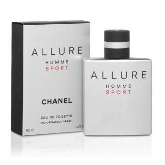Harga 100% Authentic Chanel Allure Homme Sport Eau De Toilette 100ml Vaporisateur Spray