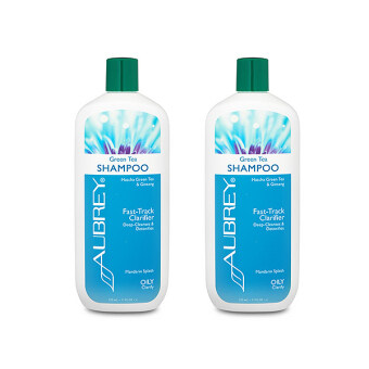 Harga Aubrey Organics Green Tea Clarifying Shampoo 11oz/325ml / 2 PCS