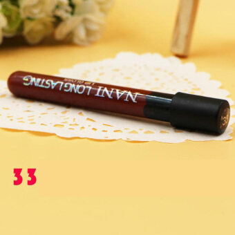 Harga Fancytoy Women Lipstick Lip Color Waterproof Lip Pencil Lip Gloss Lip Pen (33#)