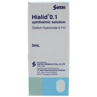 Harga Hialid Opthalmic Solution (Sodium Hyaluronate 0.1%) 5mL