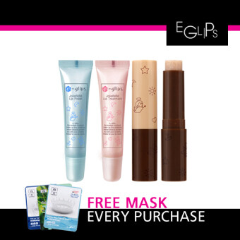 Harga Eglips Jolibebe Lip Treatment + Free 1 Pcs 3W Clinic Mask Sheet [Buy 1 Get 1 Freebie]
