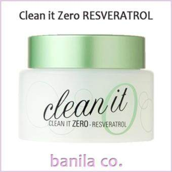 Harga [Banila Co] Clean It Zero Resveratrol (100ml) / Makeup Cleanser / Cleansing Cream
